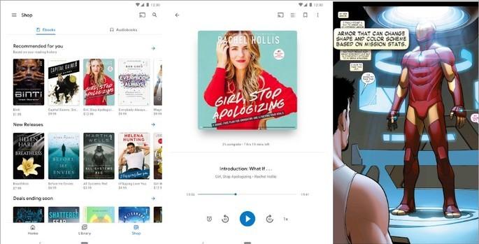 Imagem de divulgação do Google Play Livros