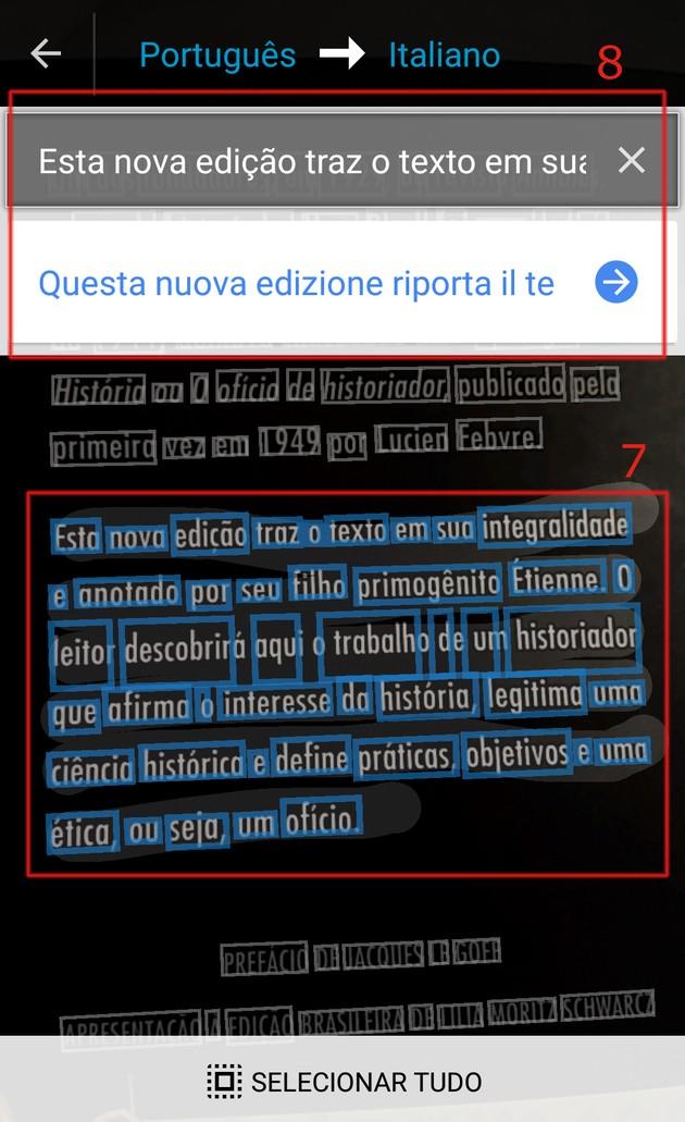 Google Tradutor imagem