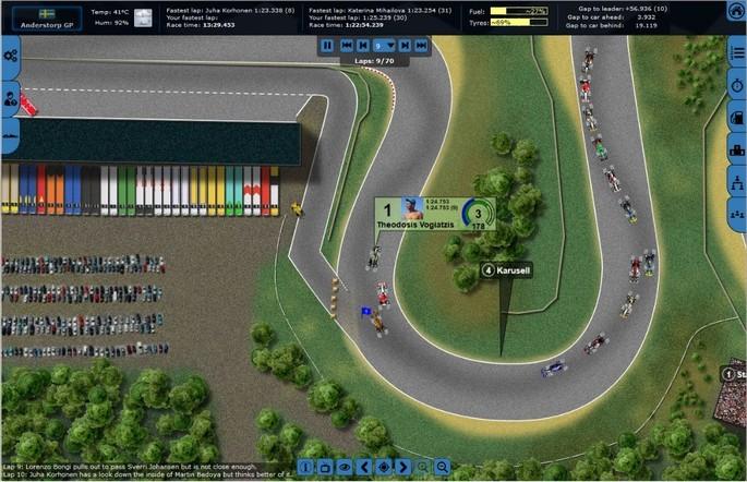 Imagem de divulgação do jogo de corrida online para PC Grand Prix Racing Online