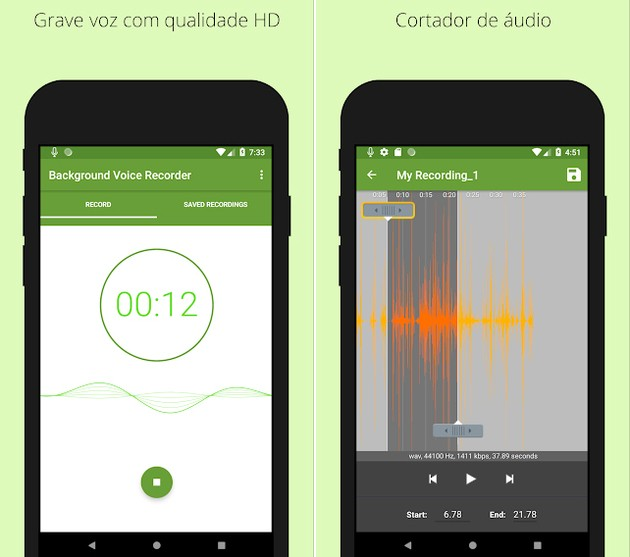 Background Voice Recorder