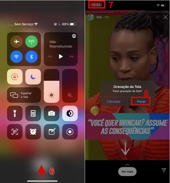 Como usar a gravação de tela do iPhone para salvar Stories do Instagram