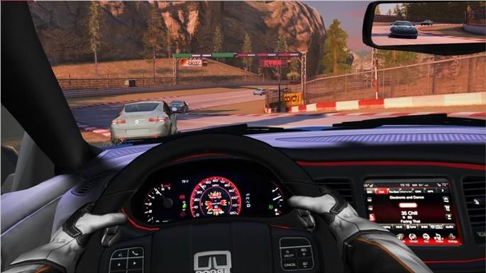 Imagem de divulgação do jogo de corrida para PC GT Racing 2: The Real Car Experience