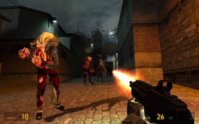 Imagem de divulgação do jogo Half-Life 2