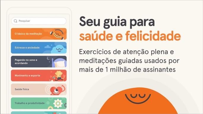 App de meditação e mindfulness Headspace
