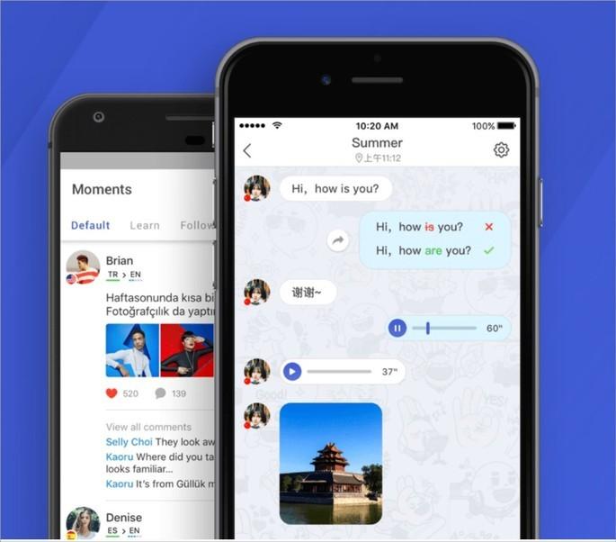 Conversar com estrangeiros com o app HelloTalk