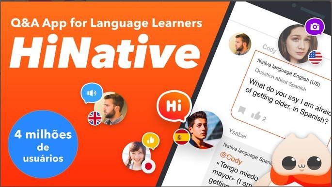 App de perguntas e respostas para questionar estrangeiros