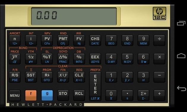 Calculadora HP 12c Financial Calculator