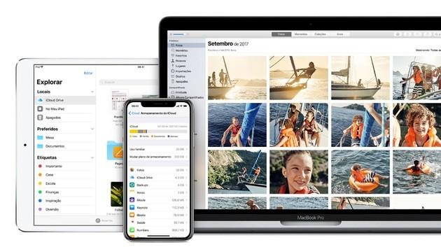 Armazenar dados em nuvem com o iCloud