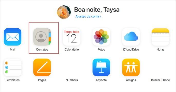 Transferir contatos iphone para Android icloud