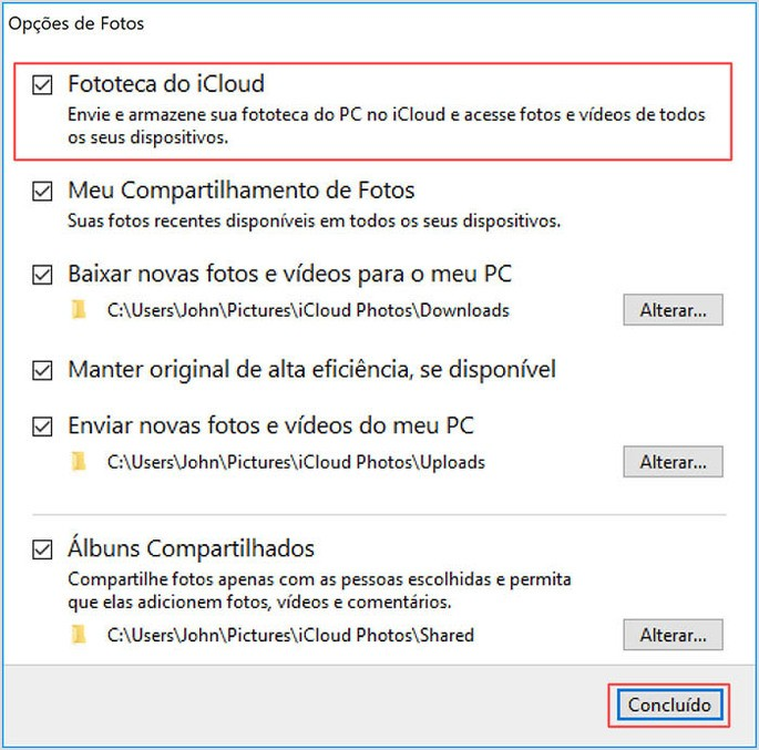 Como passar fotos iphone para o PC