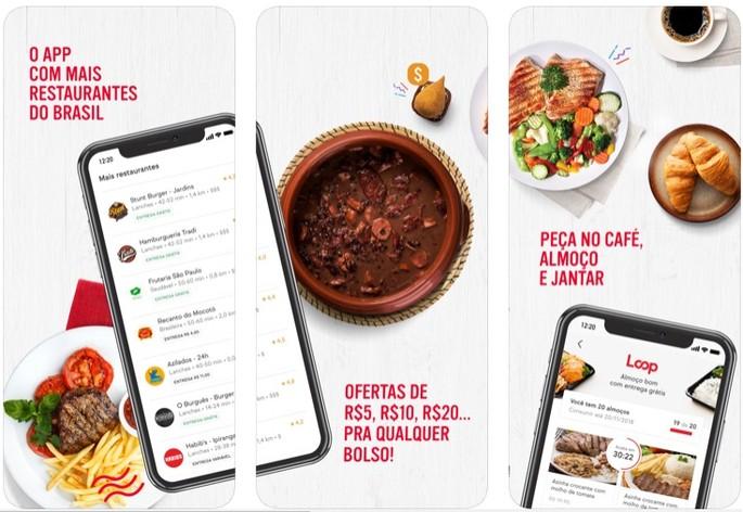 Aplicativos de comida iFood