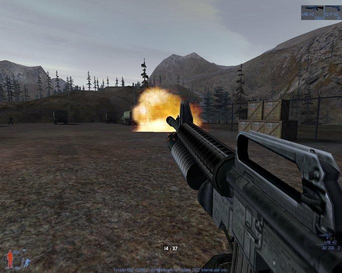 Imagem de divulgação do jogo de tiro I.G.I. 2: Covert Strike