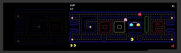 Jogos do Google Pac Man