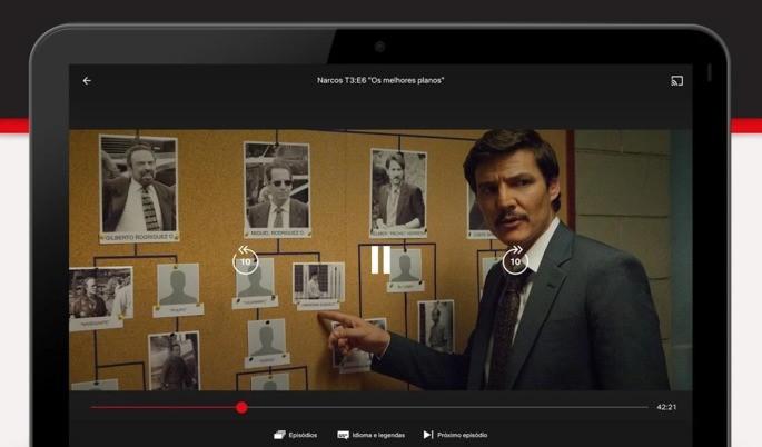 Aplicativos Chromecast Netflix