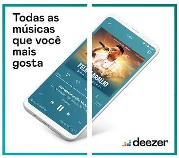 Aplicativos Chromecast Deezer