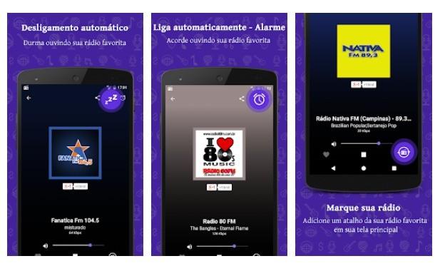 Aplicativos Chromecast Radio FM