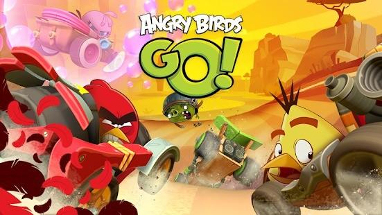 Aplicativos Chromecast Angry Birds Go