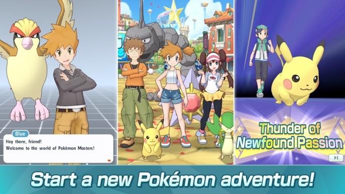 jogos pokemon android pokemon masters