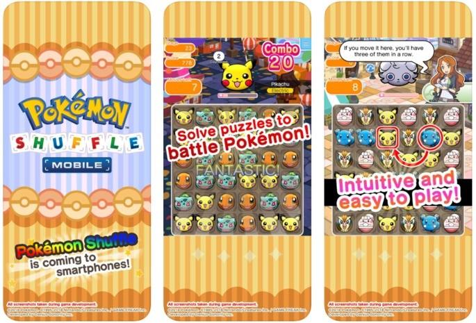 jogos pokémon android pokemon shuffle