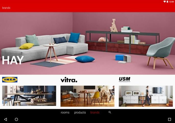 Roomle 3D/ AR Catálogo