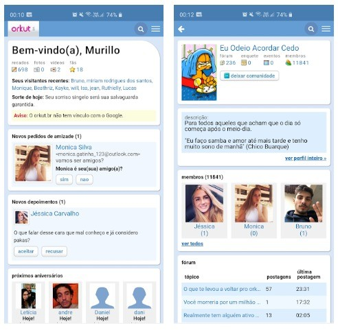Orkut voltou?