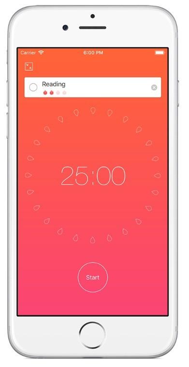Focus To-Do app
