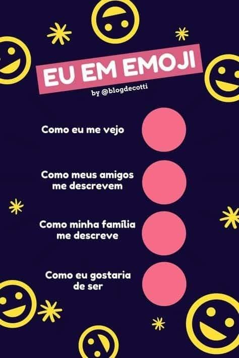 Eu em emoji