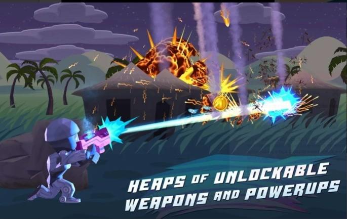 melhores jogos offline android Major Mayhem
