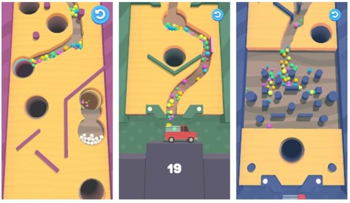 Sand Balls melhores jogos offline Android