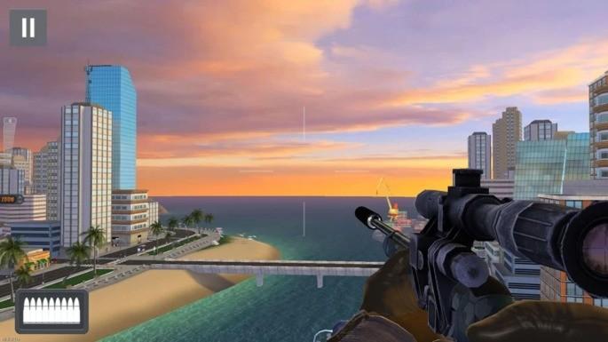 Sniper 3D Assassin melhores jogos offline android