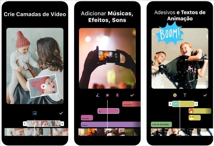 Imagem de divulgação do app de edição de vídeo InShot