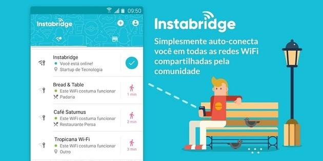 Descobrir senha de WiFi com o Instabridge