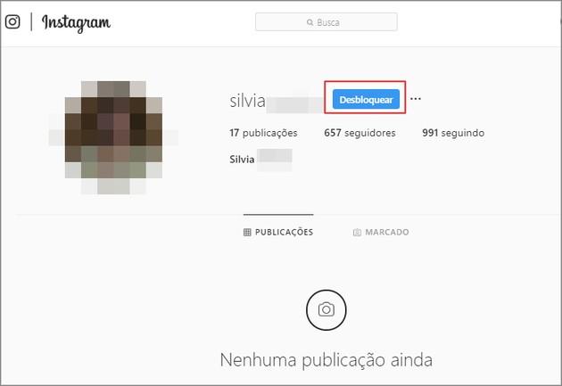 Como bloquear e desbloquear alguém no Instagram