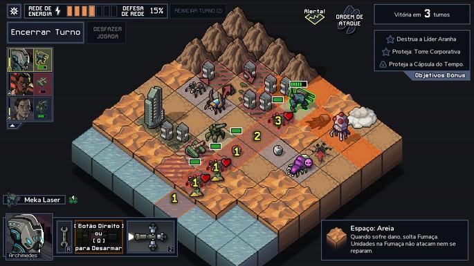 Imagem de divulgação do jogo Into the Breach