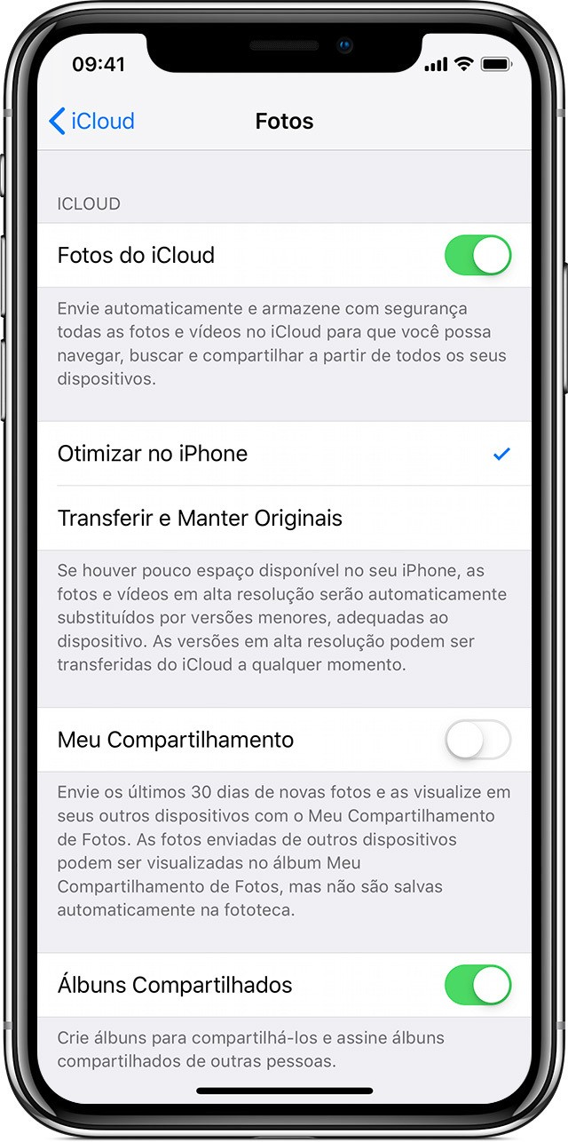 Como passar fotos do iPhone para o PC