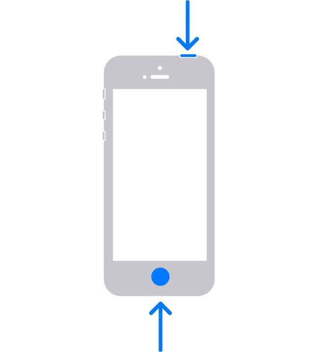 Como fazer print iPhone