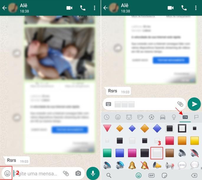 Jogo da velha no WhatsApp