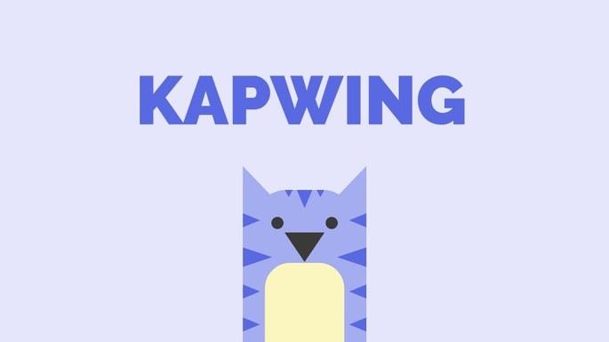 Imagem de divulgação do Kapwing