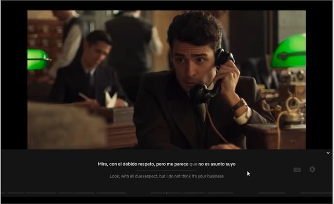 Imagem de divulgação do plugin Language Learning with Netflix