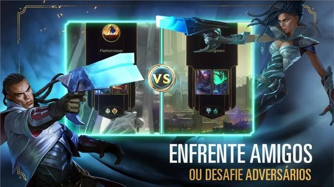 Imagem de divulgação do game Runeterra
