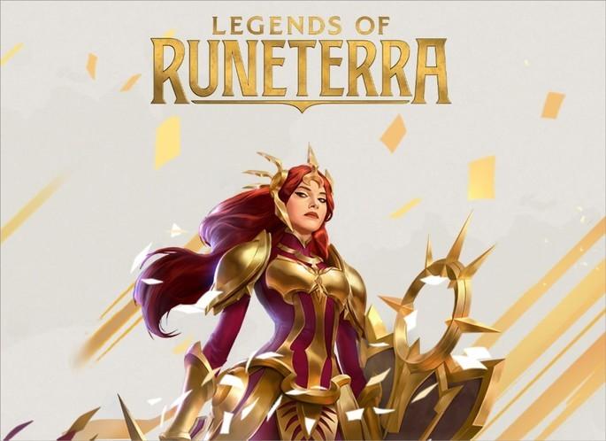 Imagem de divulgação do jogo Legends of Runeterra