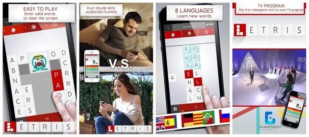 App de lógica Letris 4