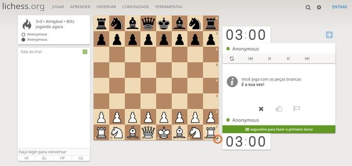 tela do jogo lichess.org