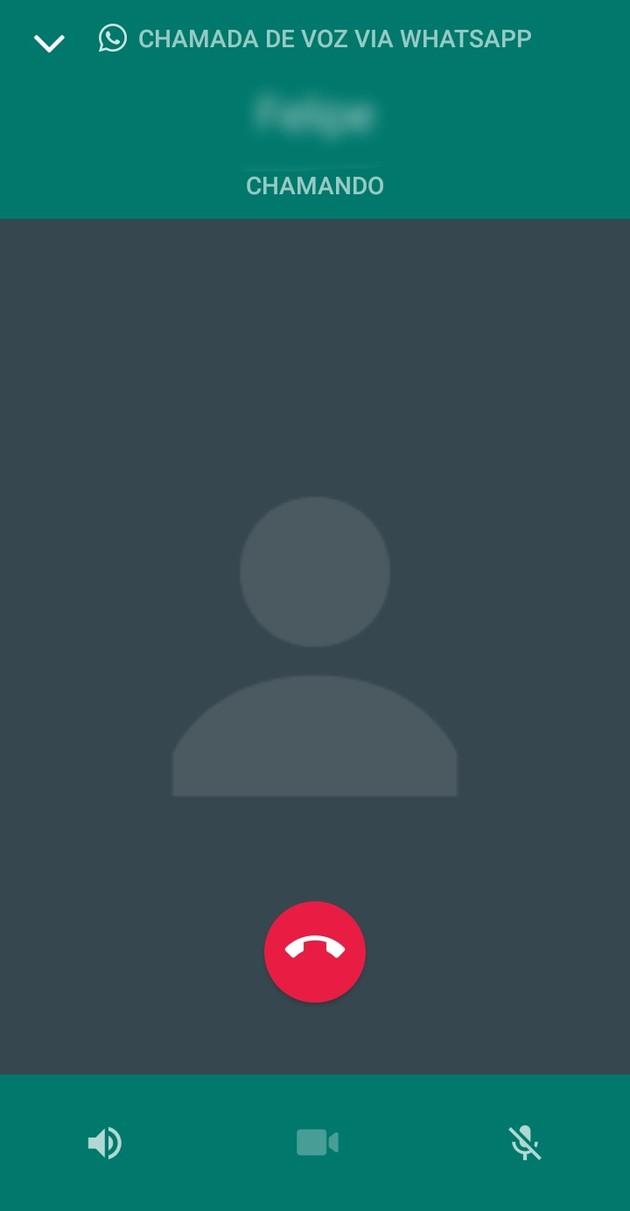 Ligação no WhatsApp
