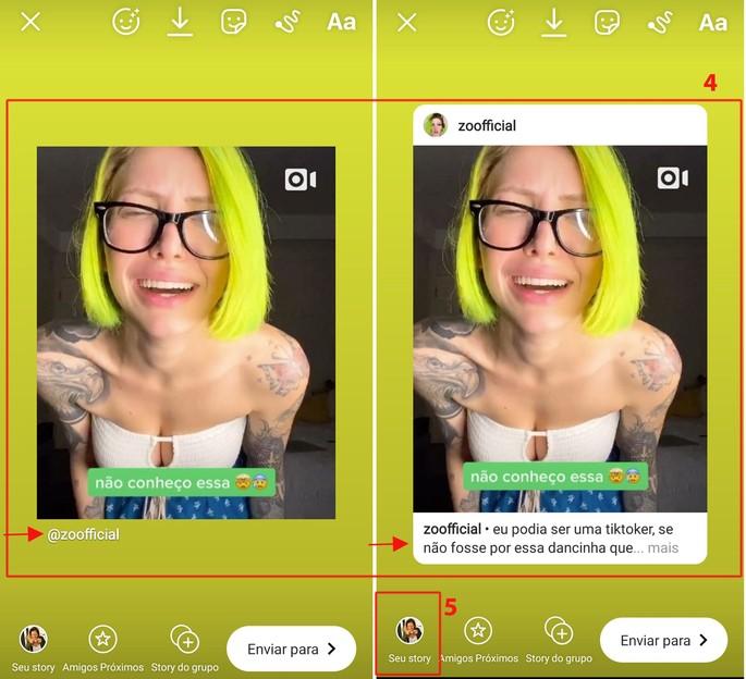 colocar link nos stories do Instagram