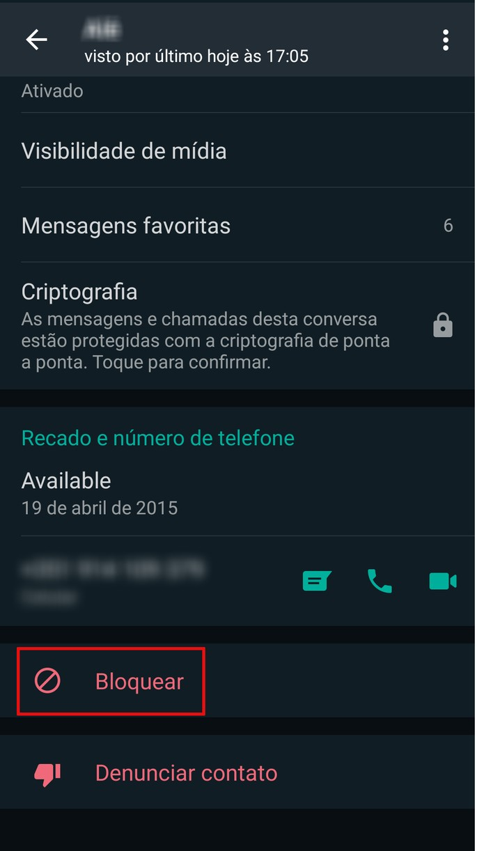 Lista de transmissão do WhatsApp