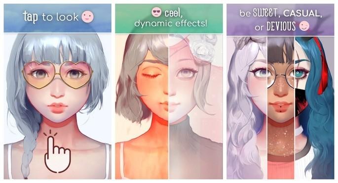 Criar autorretrato e avatar com o Live Portrait Maker
