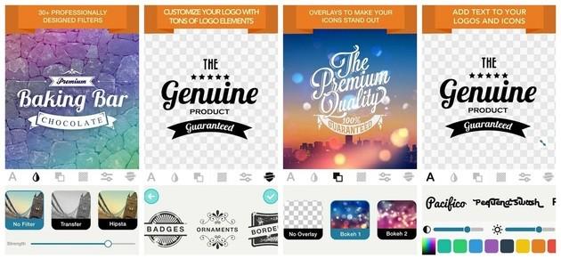 Criar logo com o Logo Maker by James Thomas Carter