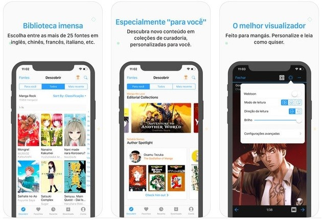 6 aplicativos incríveis para ler mangás no iPhone e no