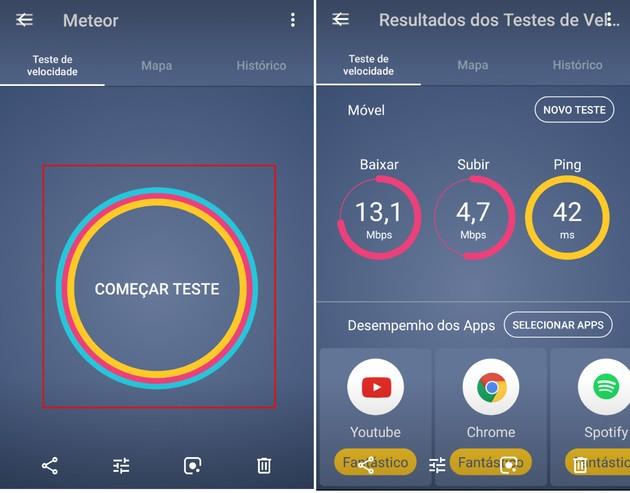 Medir a velocidade da internet no celular